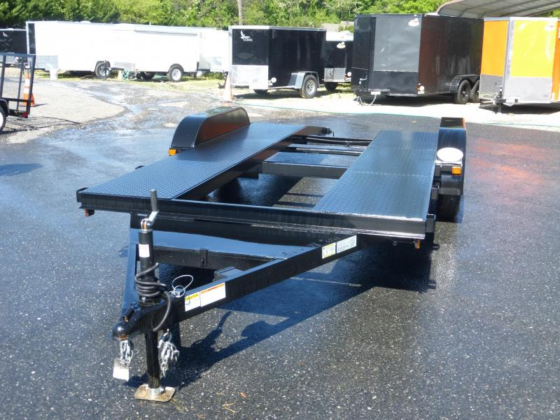 Premier 7' x 16' Open Center Car Hauler
