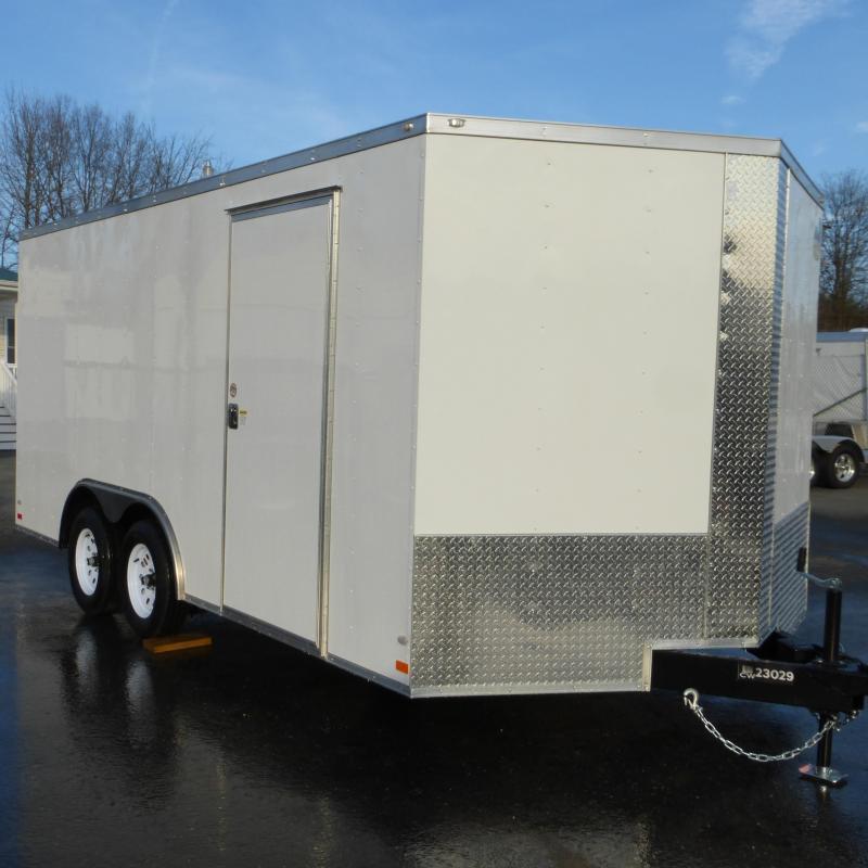Covered Wagon 8.5' x 16' Enclosed Car Hauler