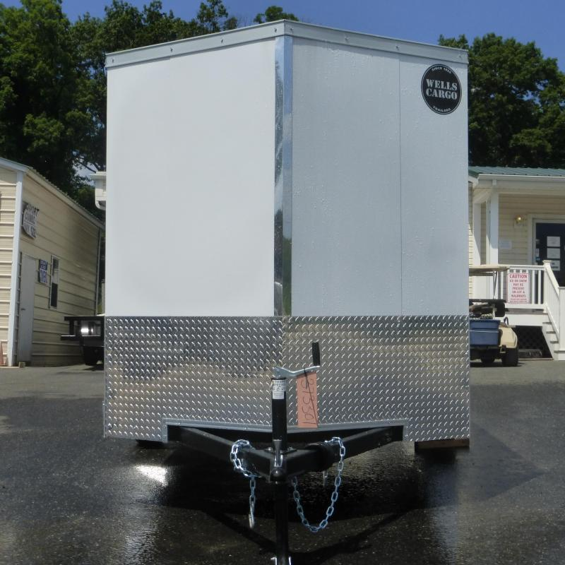 Wells Cargo VG6X12SA Enclosed Cargo Trailer