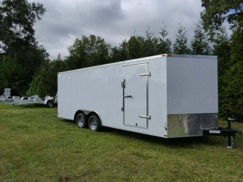 Lark 8.5' x 20' V-Nose Enclosed Car Hauler Trailer