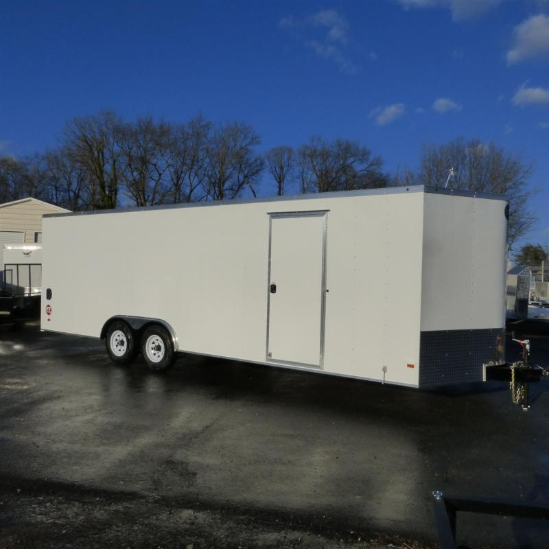 Wells Cargo Fast Trac  8.5' x 24' Enclosed Car Trailer w/ Dexter Axles 10K