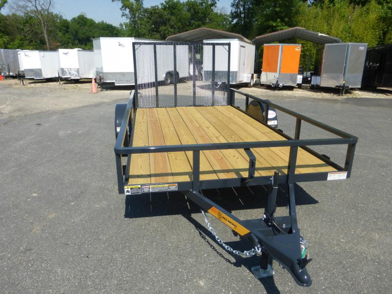Belmont Machine 6X12 Utility Trailer