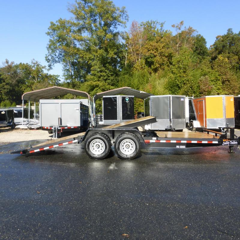 2018 Quality Trailers 7 X 20 Tilt Equipment Trailer 15K