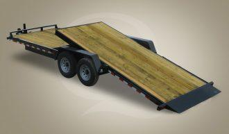 2018 Quality Trailers 7 X 20 Tilt Equipment Trailer