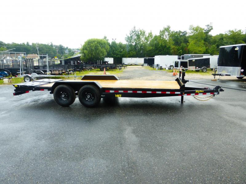 Big Tex Trailers 14ET-20 Equipment Trailer W/ MEGA RAMPS
