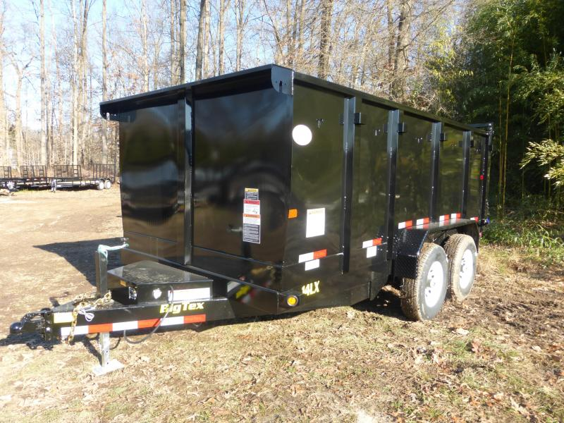 "Big Tex 7' x 14' x 48"" Dump Trailer"