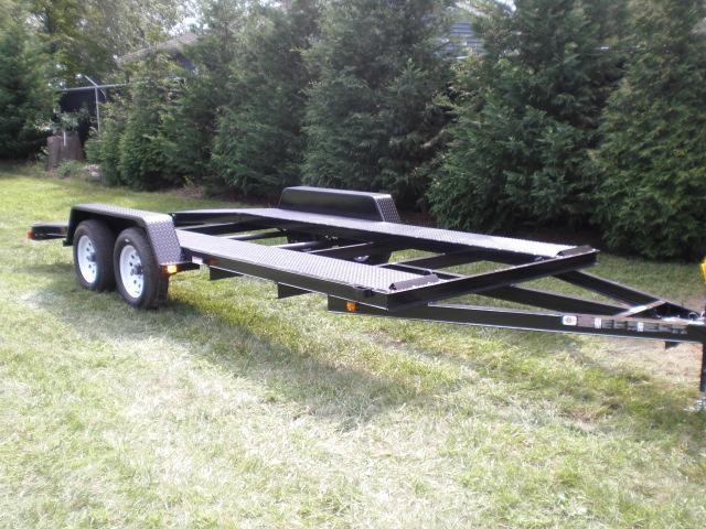 Carry-On 7' x 18' Open Center Car Hauler