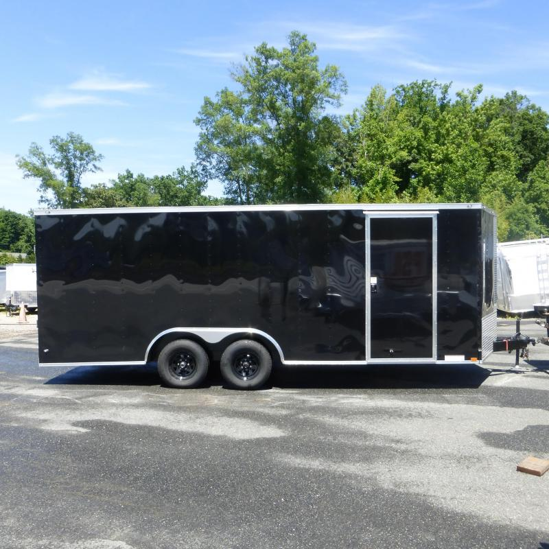 Lark 8.5 X 20 Black Enclosed Cargo Trailer