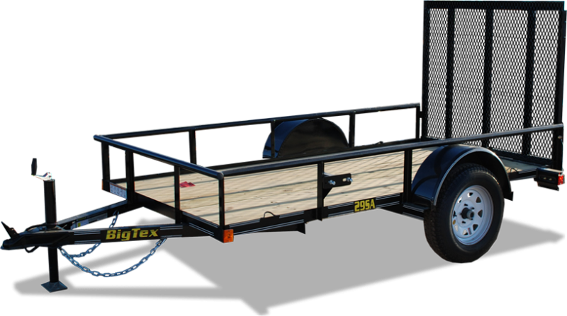 Twf 6 39 4 x 16 39 tandem axle utility trailer new enclosed for Garden design trailer