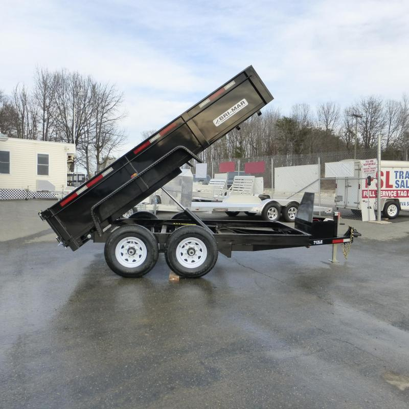 Bri-Mar 7' x 12' Heavy Duty Dump Trailer