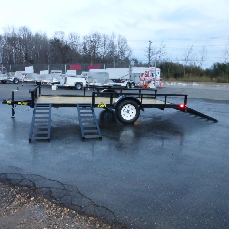 Big Tex 7' x 14' Single Axle ATV Trailer w/ removable ramps
