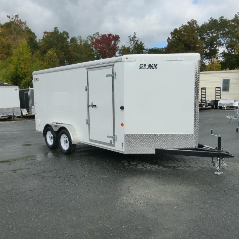 2019 Car Mate 7' x 14' Enclosed Cargo Trailer with Ramp