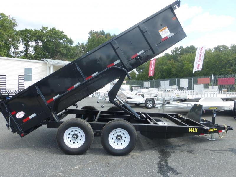 "Big Tex Trailers 7' x 14' x 24"" Dump Trailer"