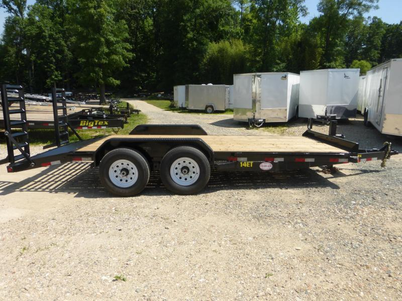 Big Tex Trailers 12ET-18 Equipment Trailer