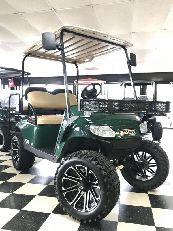 2016 Pre-Owned E-Z-GO TXT Gas Golf Cart Green