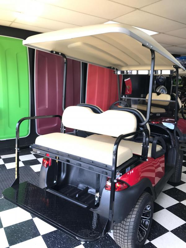 2014 Club Car Pre-Owned Precedent Electric Golf Cart Red