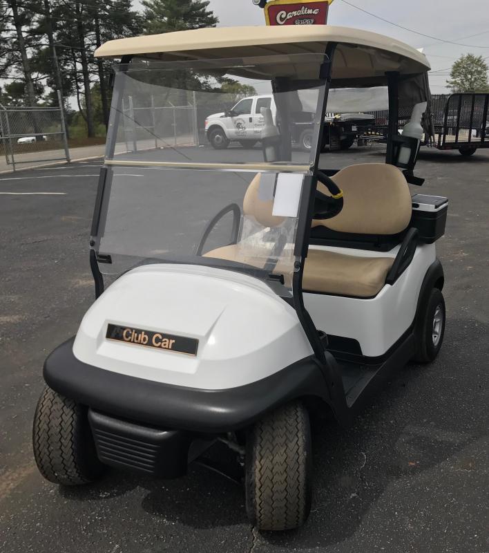 2014 Pre-Owned Two Passenger Club Car Precedent Golf Cart