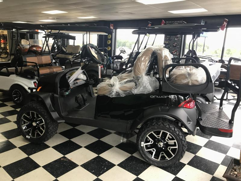 2018 New Club Car Onward Electric Golf Cart Black