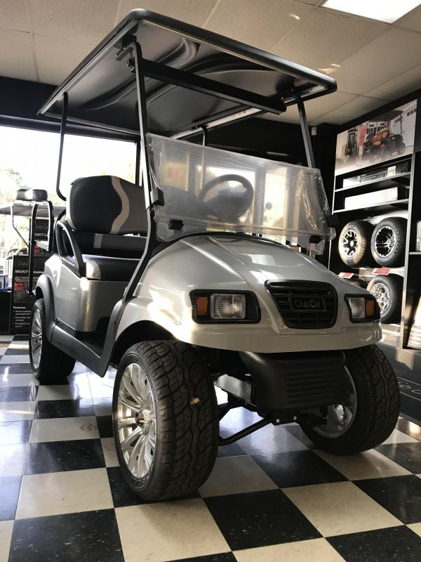 2014 Pre-Owned Club Car Phantom Precedent Electric Golf Cart Silver