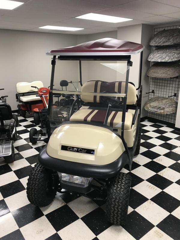 2012 Preowned Club Car Precedent Electric Golf Cart Beige