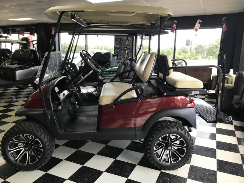 2014 Pre-Owned Precedent - Club Car - Electric - Maroon Red