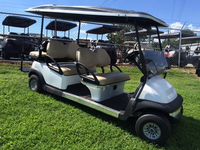 2014 Club Car Precedent Electric Golf Cart White