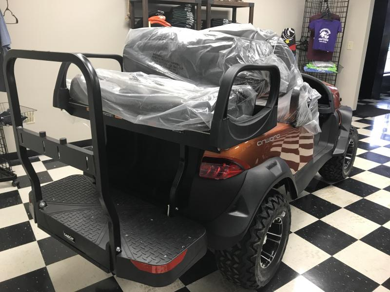 2018 New Club Car Onward Gas Golf Cart Orange