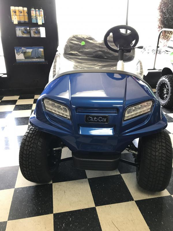 2017 New Onward - Club Car - Electric - Blue