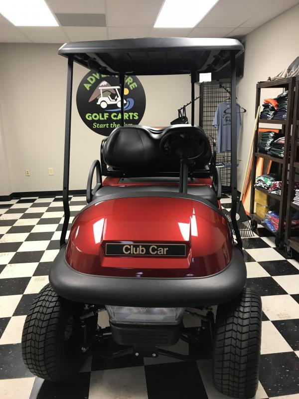 2017 Club Car Precedent Villager 4 Gas Golf Cart Red