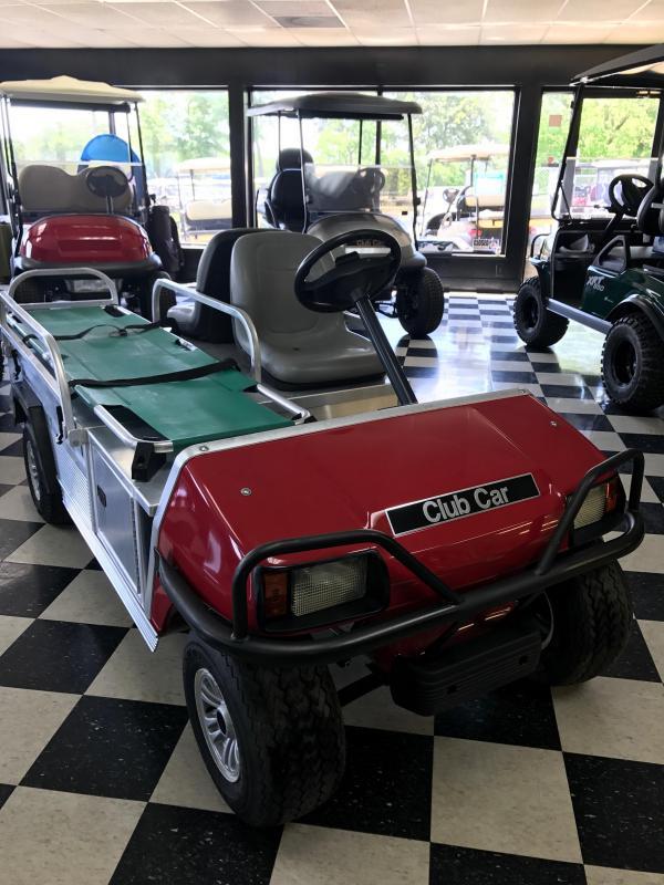 2012 Club Car Ambulance Unit Golf Cart