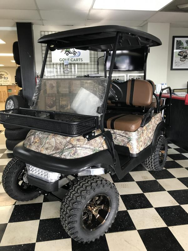 2014 Pre-Owned Club Car Precedent Electric Golf Cart Camo