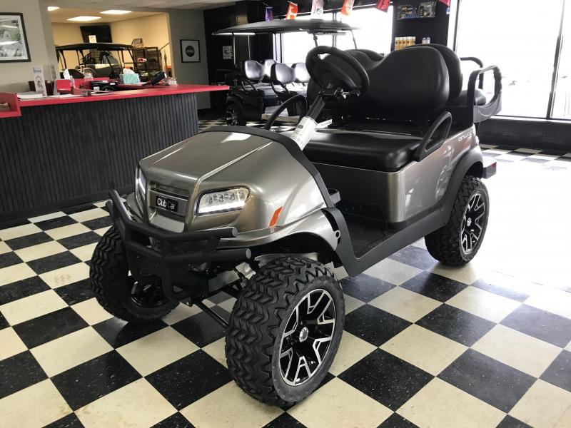 2017 New Onward - Club Car - Gas - Silver