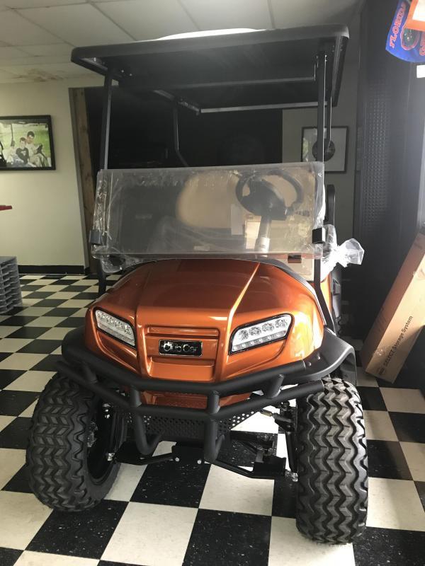 2018 New Club Car Onward Electric Golf Cart Orange