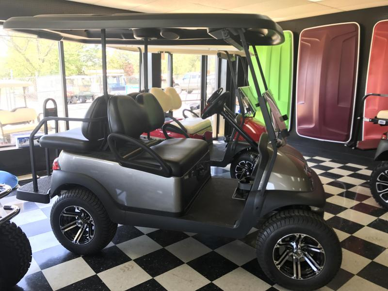 2017 New Precent - Club Car - Gas - Silver Gray