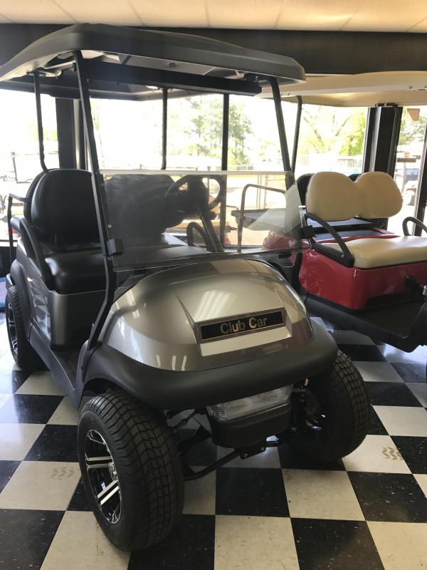 2017 New Precedent - Club Car - Gas - Silver Gray