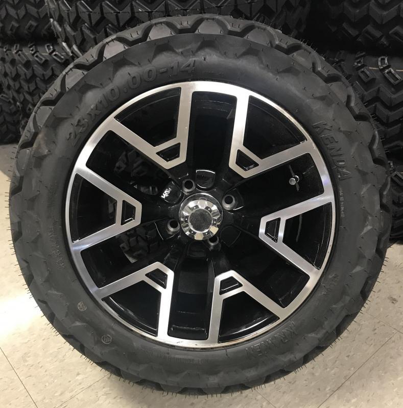 Kenda Tire and Club Car Onward Wheel