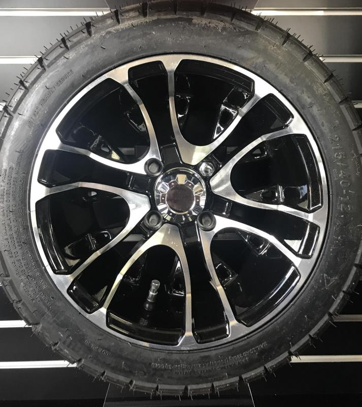 C254 Tire and Mercury Gloss Black Wheel