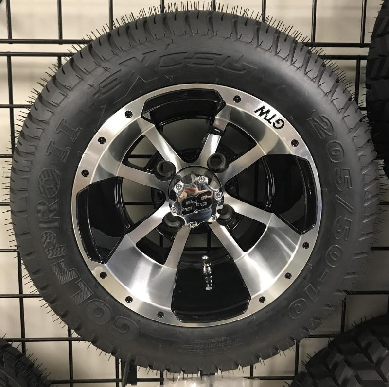 Excel Golf Pro II Tire and Storm Trooper Wheel Assembly