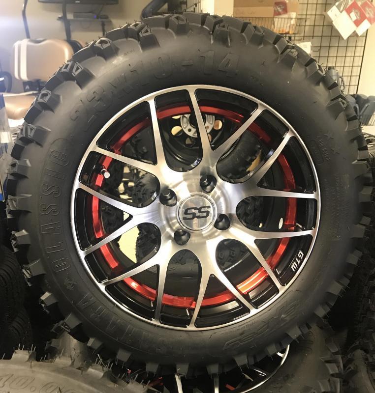 Sahara Classic Tire and Pursuit Wheel