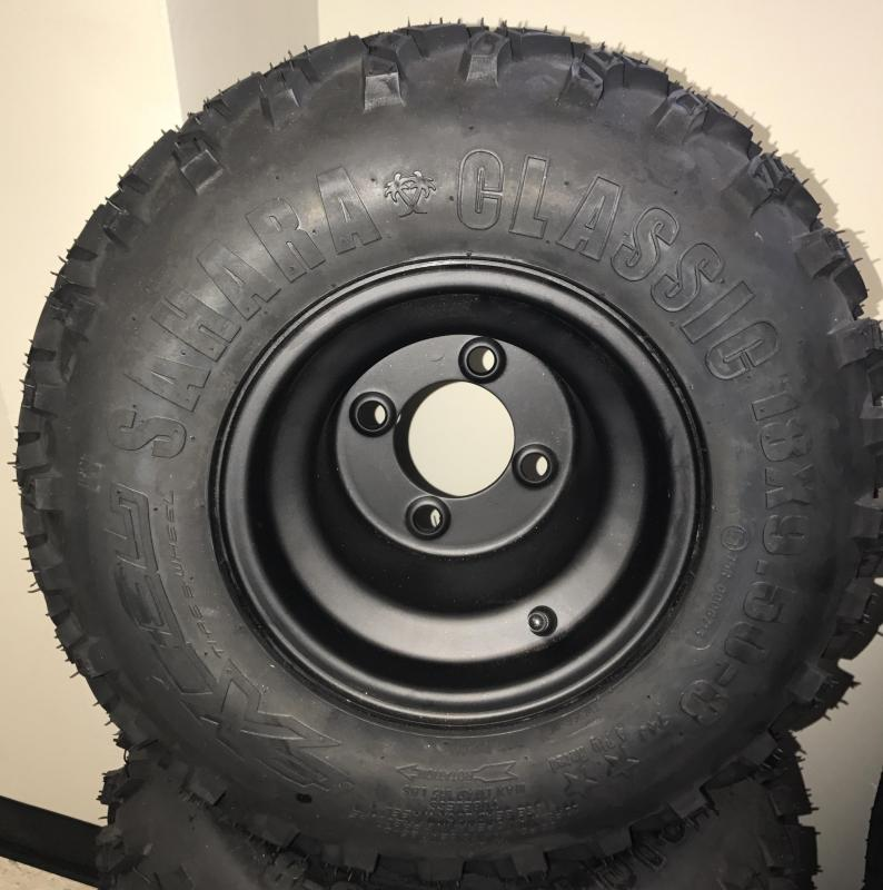 Sahara Tire and Black Steel Wheel Assembly