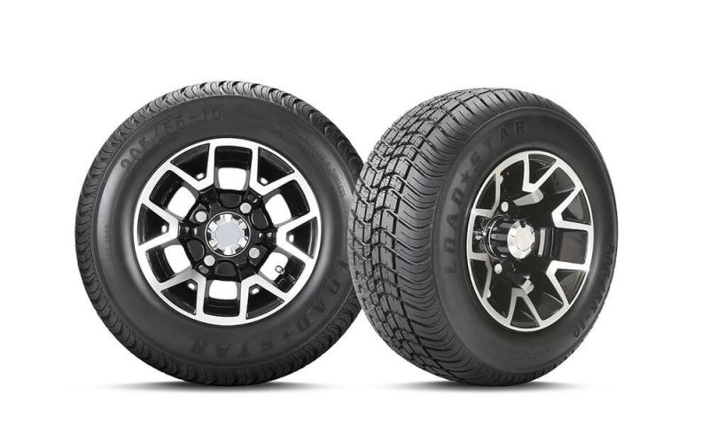 C254 Tire and Atlas Gloss Black Wheel