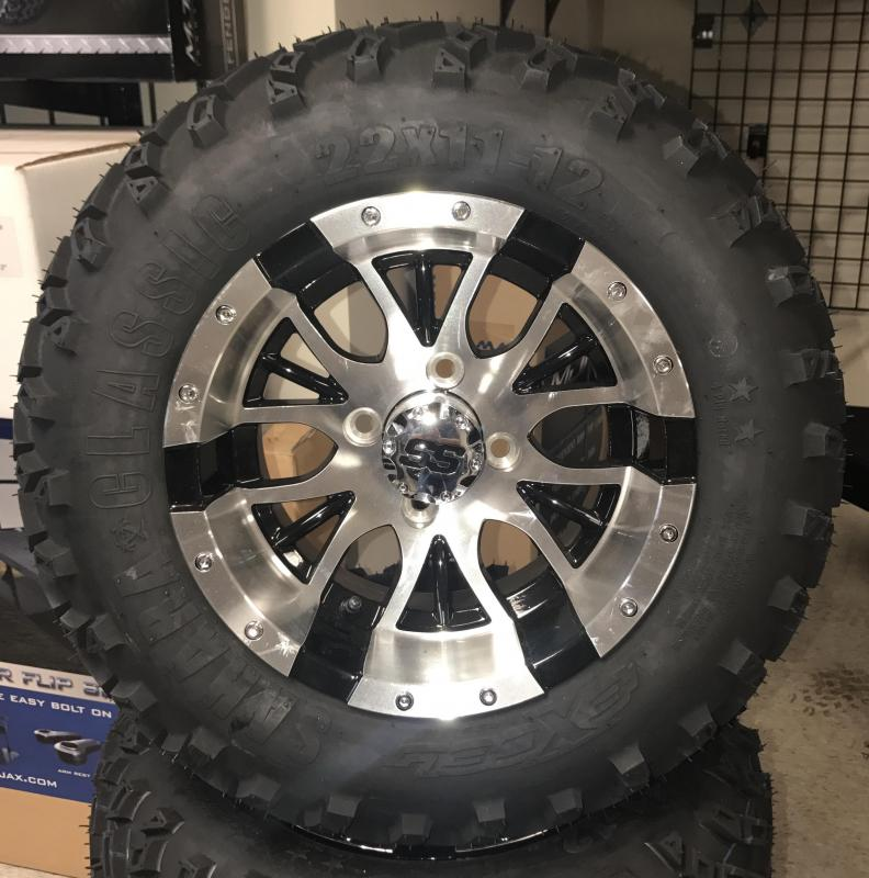 Sahara Classic Tire and Diesel Wheel Assembly