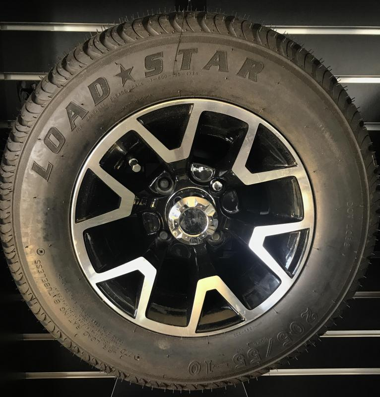 Kenda Loadstar Tire and Atlas Gloss Black Wheel