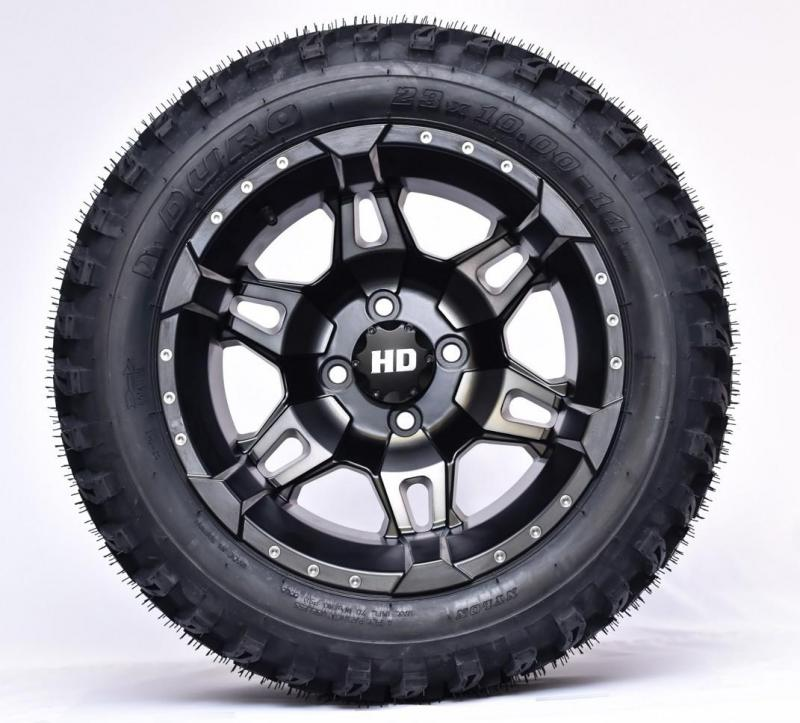 Duro Tire and Desert Matte Wheel