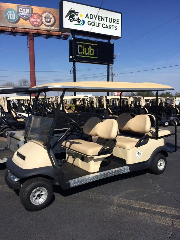 2009 Club Car Precedent Gas Golf Cart 6 Passenger