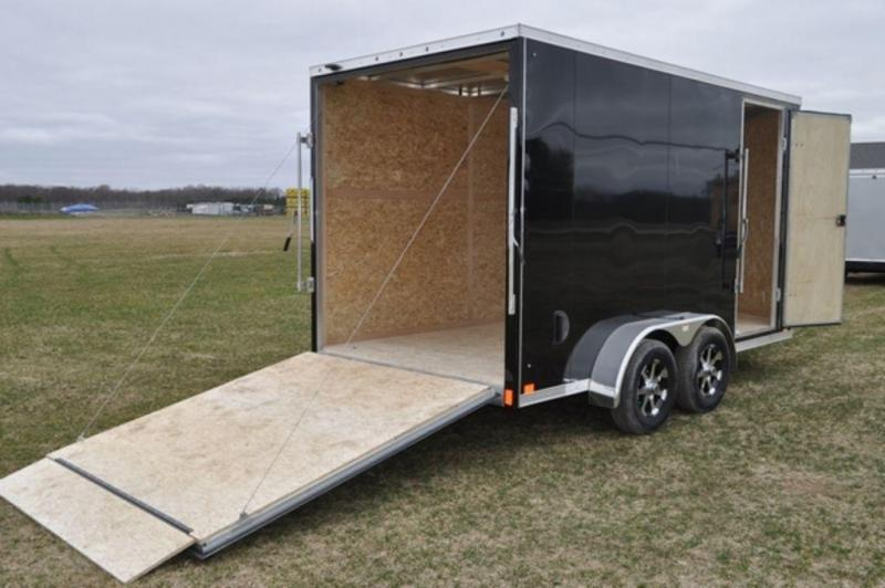 2020 Haul-It 7 x 14 All Aluminum Enclosed Cargo Trailer For Sale