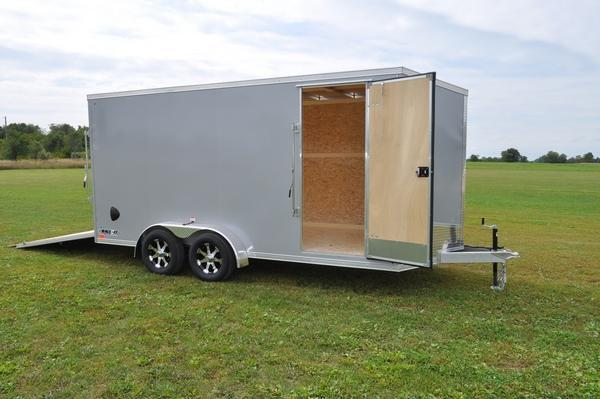 2020 Haul-it All Aluminum 7 x 16 Enclosed Cargo Trailer For Sale