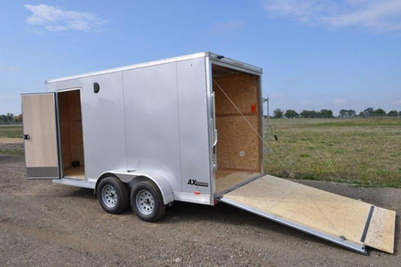 2018 Cargo Express 7 x 14 Tandem Axle All Aluminum Cargo Trailer For Sale