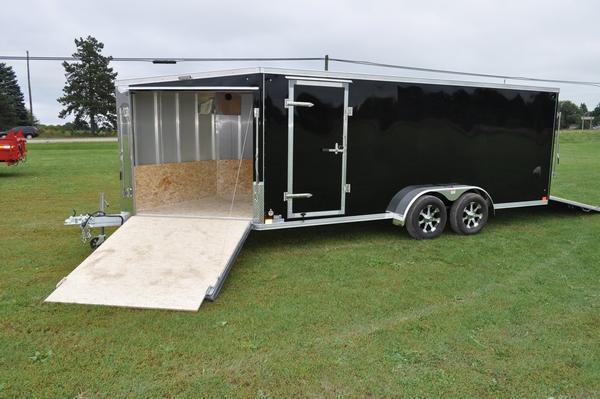 2020 Haul-it 7 x 23 All Aluminum Snowmobile Trailer For Sale