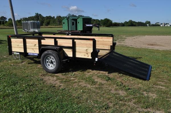2020 Sure-Trac 5 x 10 3 Board High Utility Trailer